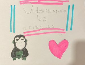 affiche Isabella protection des animaux